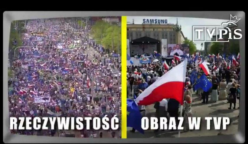 """Chodzi m.in. o relację z """"Marszu Wolności"""" organizowanego przez PO"""