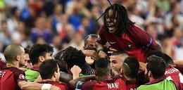 Francuzi ukarani za brutalny atak na Ronaldo. Portugalia wygrywa Euro 2016