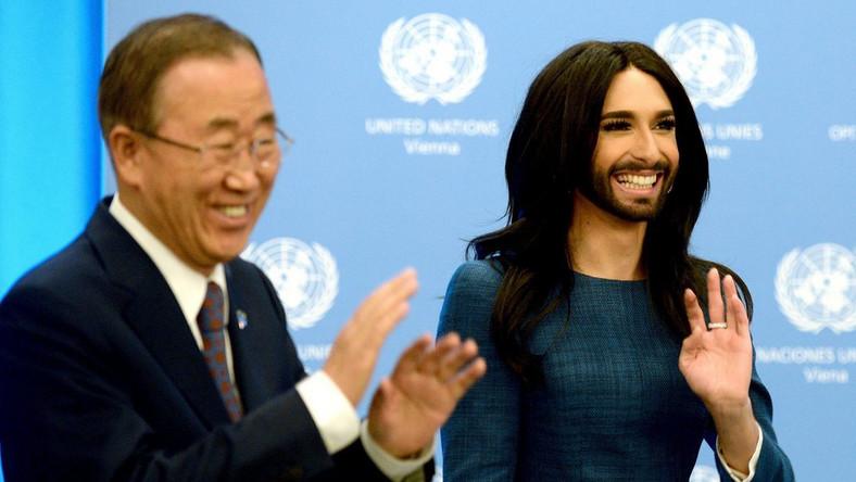 Conchita Wurst to drag queen, która zwyciężyła tegoroczną edycję konkursu Eurowizja. Czytaj więcej: Kobieta z brodą wygrywa Eurowizję. Conchita Wurst zdeklasowała konkurencję