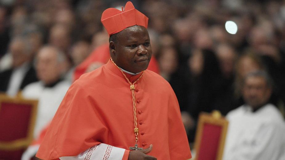 Arcybiskup Bangi, kard. Dieudonné Nzapalainga