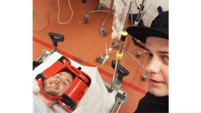 Maciej Kiwak miał wypadek na zawodach BMX. Spadł z 9 metrów