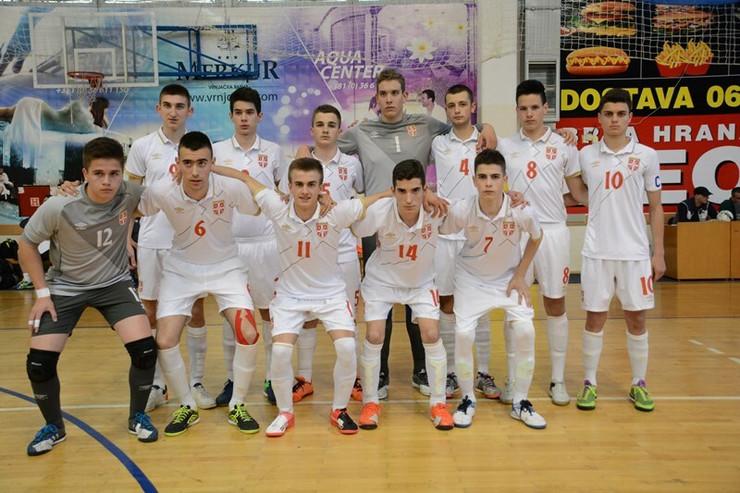 Omladinska futsal reprezentacija Srbije