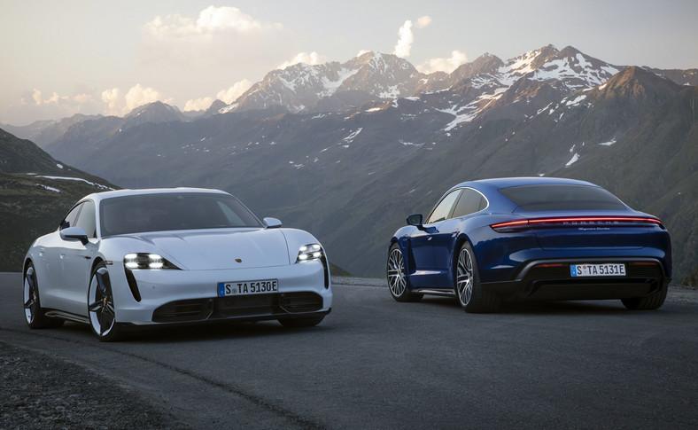 Porsche Taycan Turbo S i Taycan Turbo