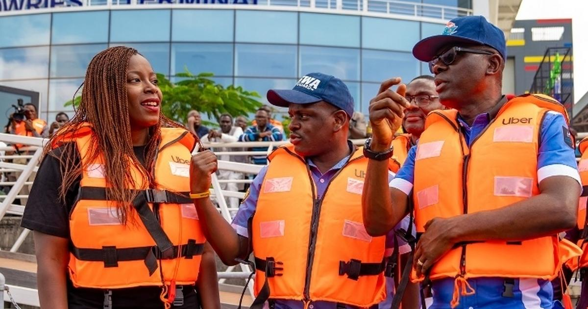 The Governor of Lagos claims he launched UberBoats in the city. We decided to Factcheck - Pulse Ghana