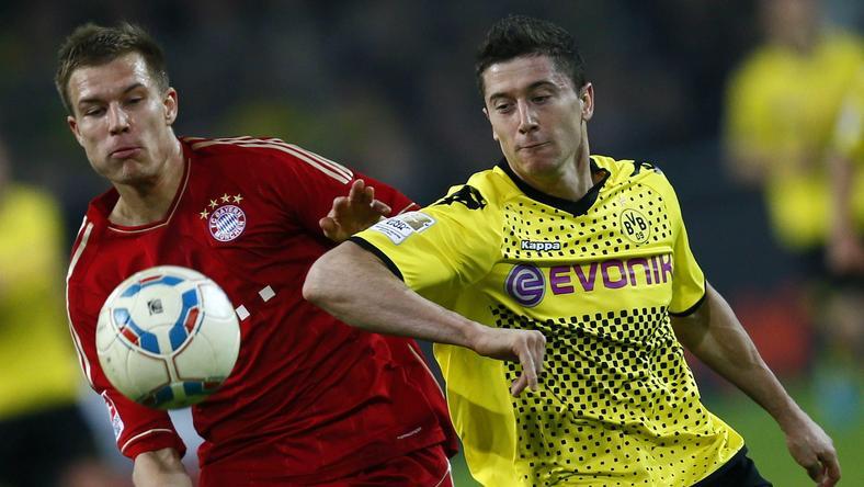 Borussia - Bayern: Robert Lewandowski (P)