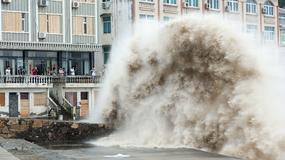 Chiny: ponad 860 tys. ludzi ewakuowanych z powodu tajfunu