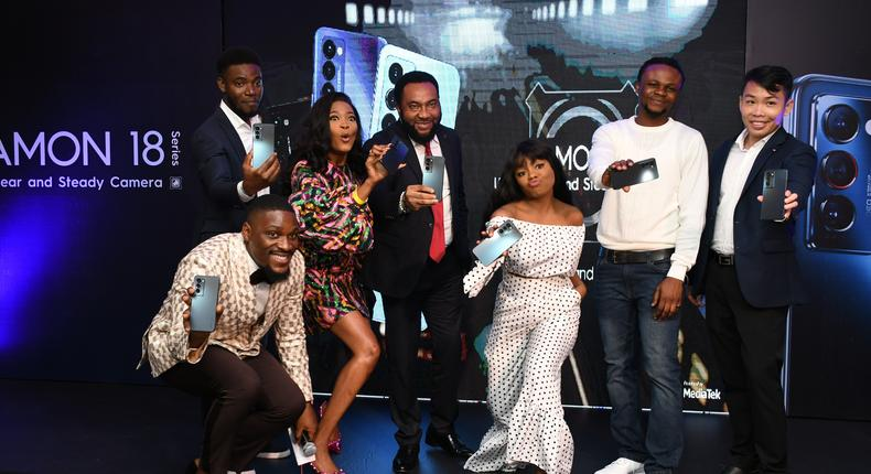 TECNO: Meet the faces at the CAMON 18 Series launch: Shake It, Love It!