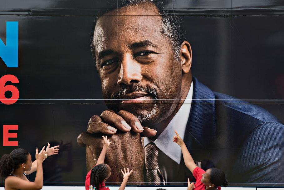 Presidential Candidate Ben Carson Speaks