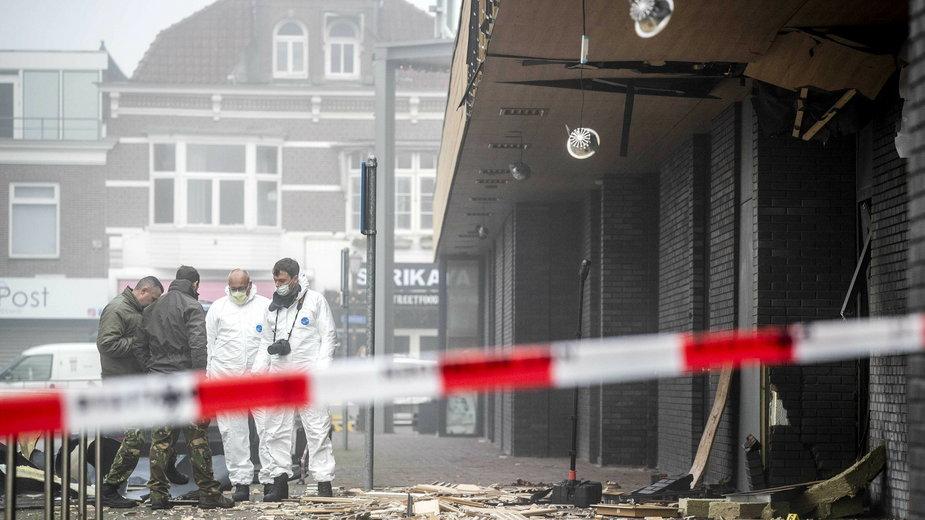 Centrum handlowe De Beverhof w Beverwijk po środowej eksplozji