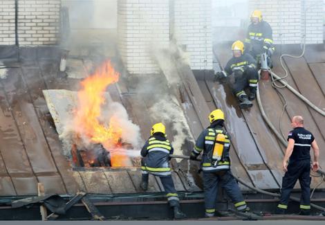 Vatrogasci su imali mnogo intervencija