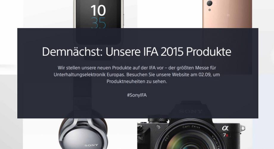 Sony-PK im Live-Blog: Xperia Z5 Plus mit UHD-Display?