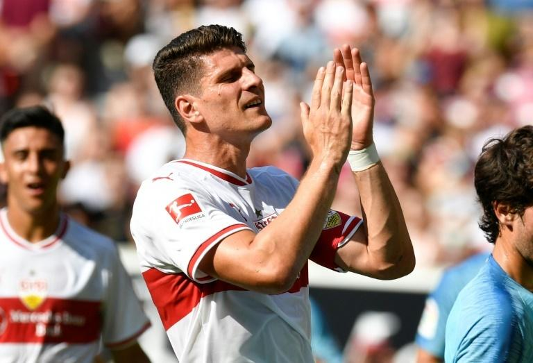 Mario Gomez is nearing the end of his career now with Stuggart