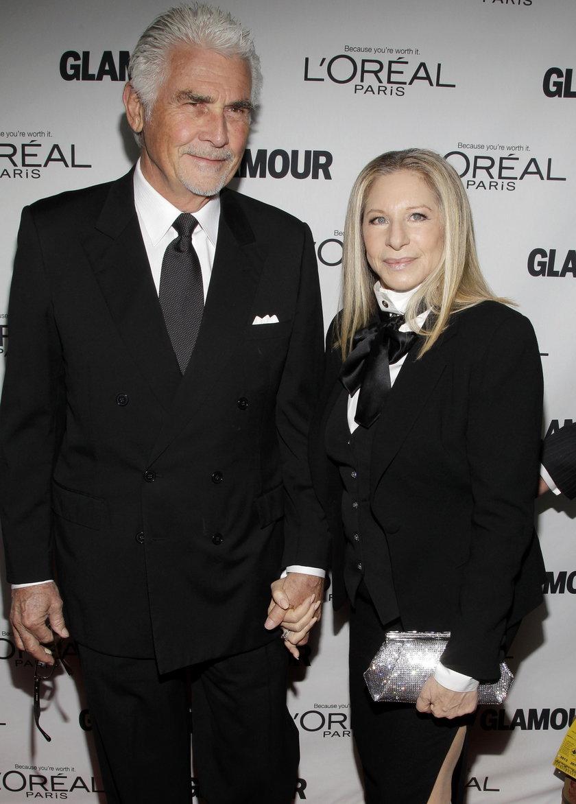 Barbra Streisand (piosenkarka) i James Brolin (aktor, reżyser)
