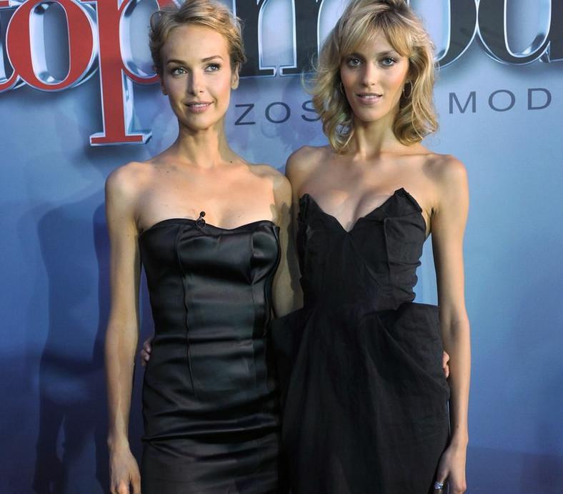 "Anja Rubik i Magdalena Mielcarz w ""Top Model"""