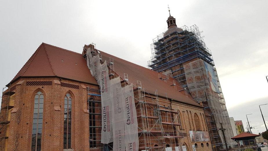 Gorzowska katedra w remoncie