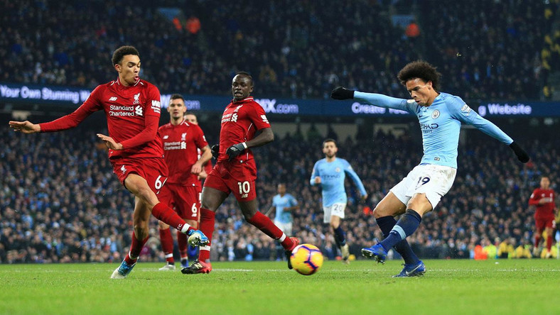 Liverpool vs Man city match at EPL 2019 season (Sports Illustrated)