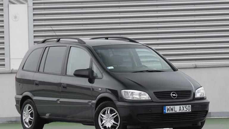 Opel Zafira 2.0 DI: tani i do tego 7-osobowy