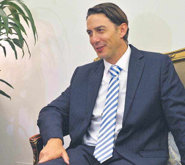 Amos Hochstein, doradca ds. bezpieczeństwa energetycznego w Departamencie Stanu USA