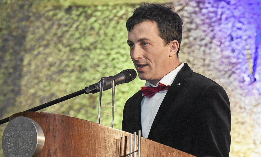 Marcin Mamoń w wieliczce