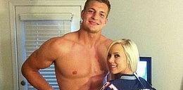 Polak z NFL spotyka się z gwiazdą porno. Foto