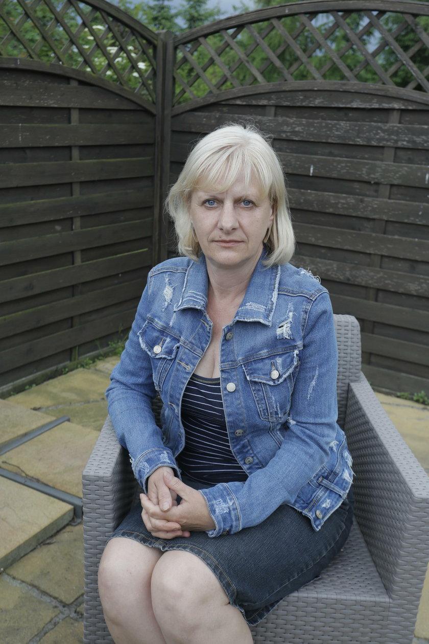 Maria Raniszewska, żona zmarłego w Norwegii Polaka