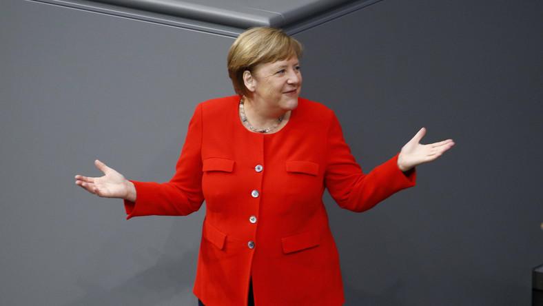Koronawirus sprawił, że Niemcy i Angela Merkel muszą wbrew własnym chęciom okazać potęgę kraju
