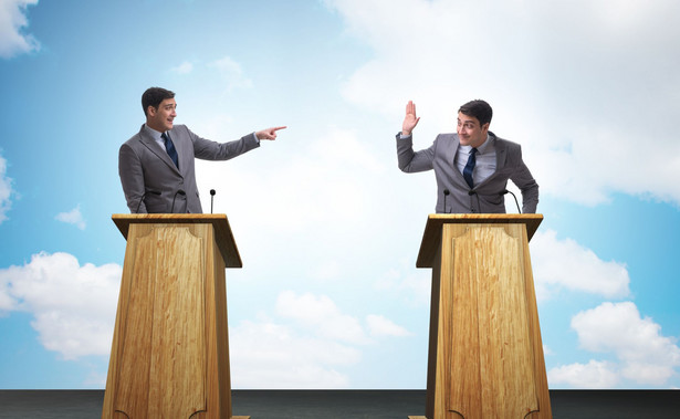 Kłótnia polityków