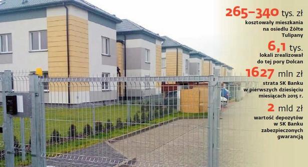 Zapłacili za mieszkania na podwarszawskim osiedlu Żółte Tulipany, a wciąż nie są ich właścicielami