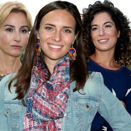 """Joanna Brodzik i inne gwiazdy promują """"Pensjonat nad rozlewiskiem"""". Która wyglądała najlepiej?"""
