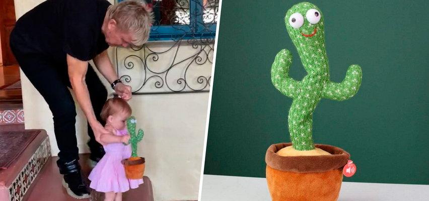 Gwiazdor rocka dał wnuczce kaktusa śpiewającego wulgarny polski przebój o narkotykach WIDEO