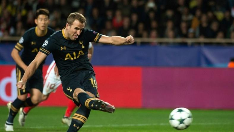 Harry Kane's penalty goal wasn't enough to safe Tottenham Hotspur from defeat against Monaco