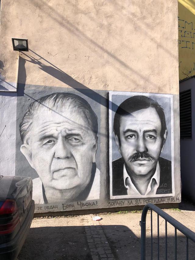 Mural Madžgalju