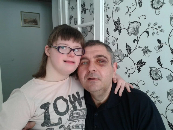 Goran i ćerka Lea