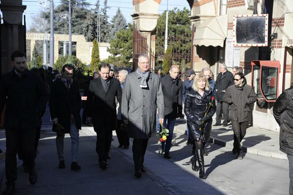 Dragan Šutanovac dolazi na sahranu