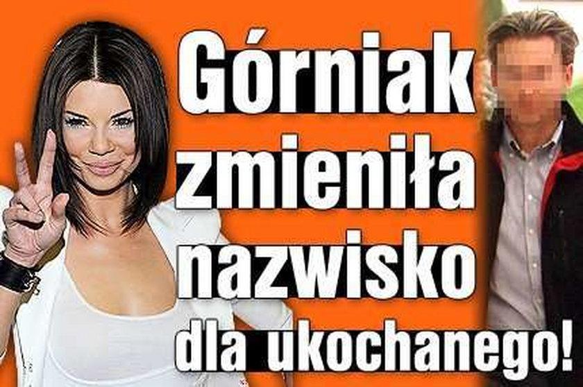 Edyta Górniak zmieniła nazwisko dla ukochanego