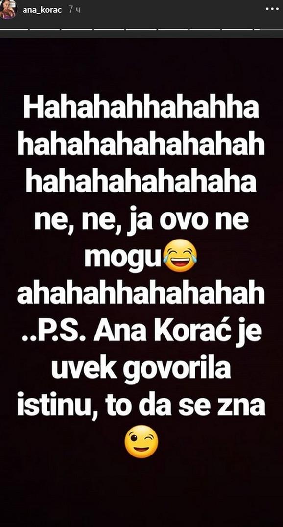 Ana Korać o Filipu Mijatovu