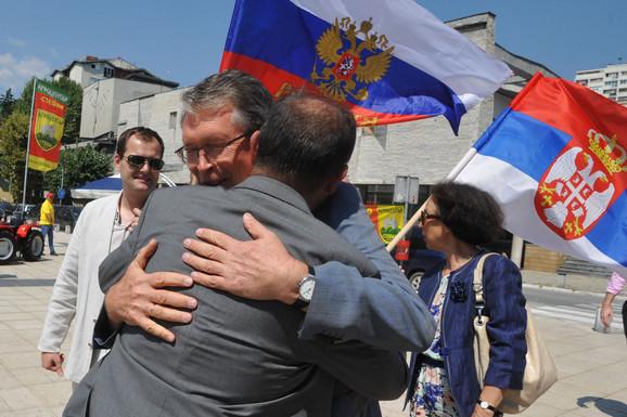 Ruski ambasador juče bio gost