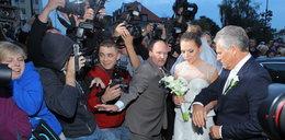 Wszystko o pięknym ślubie i bajecznym weselu Kwaśniewskiej!