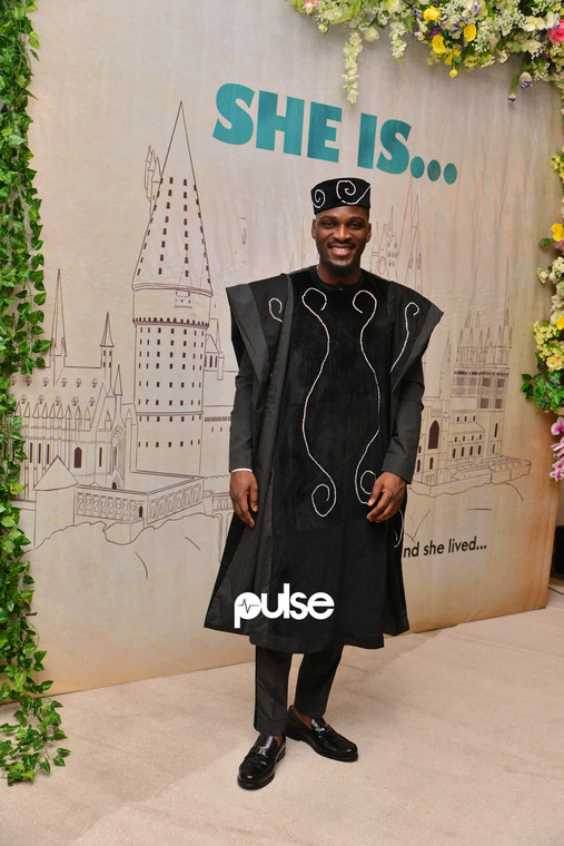 Tobi Bakre at 'She Is' movie premiere [PULSE]