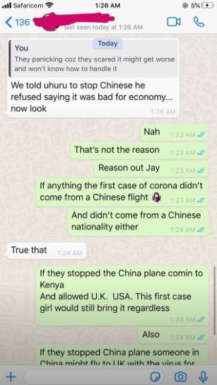 Its dumb to blame the president for letting the China plane into the country – Vera Sidika