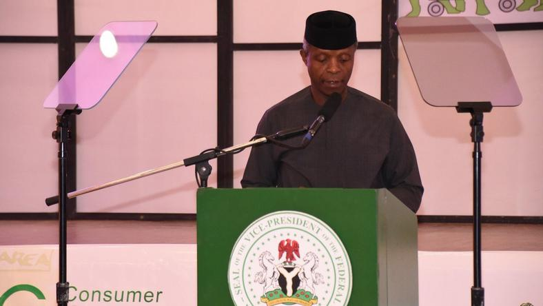Osinbajo at the launch of Patients Bill of Rights in Abuja