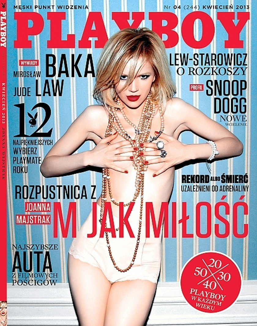 Joanna Majstrak na okładce Playboya