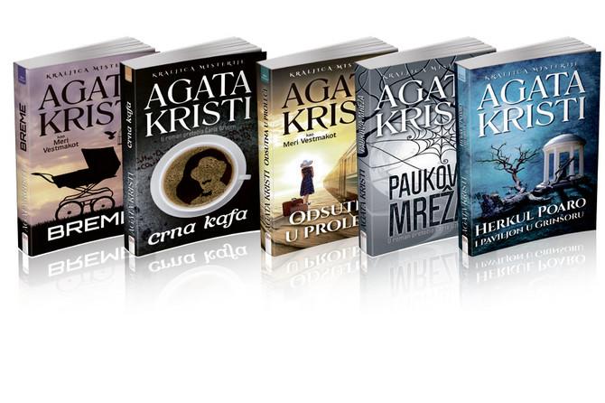 Izaberite jedan od pet krimi romana Agate Kristi