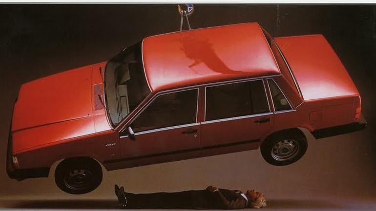 Stara reklama Volvo