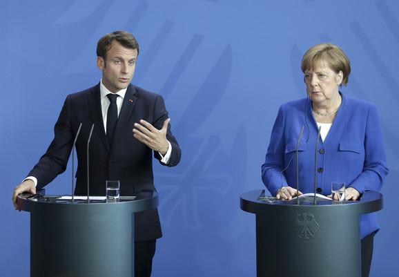 Emanuel Makron i Angela Merkel: Dijalog Beograda i Prištine da bude nastavljen