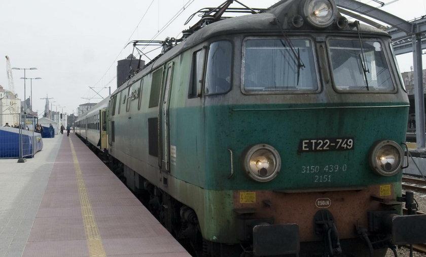 Uciekająca lokomotywa na Słowacji