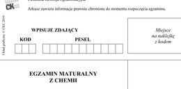 Matura 2013: Egzamin z chemii! Arkusze pytań