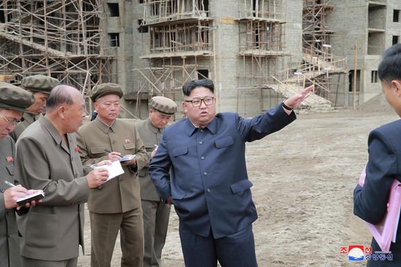 Tokom poslednje inspekcije Kim je podstakao na razvoj Samdžijona