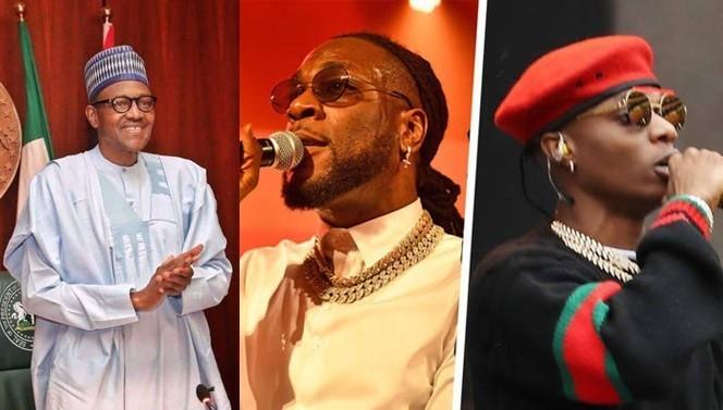President Buhari congratulates Burna Boy and Wizkid on their respective Grammy wins. (Punch)