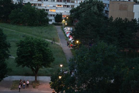 Mesto na kom je Jovanović upucao suprugu
